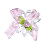 Цветы пришивные 1-58/1 розовый