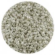 Бисер Астра (уп. 20 г) №1109  серебряный