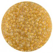 Астра бисер (уп. 20 г) №2202 оранжевый с цветным центром