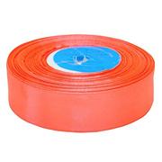 Лента атласная 24 мм (рул. 33 м) №125Г красн.-оранж.