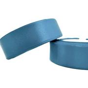 Лента атласная 24 мм (рул. 33 м) №136Г т.-голуб.