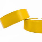 Лента атласная 24 мм (рул. 33 м) №140Г жёлт.