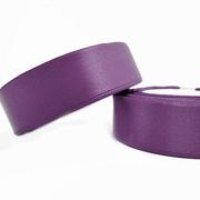 Лента атласная 24 мм (рул. 33 м) №143Г фиолет.