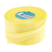 Лента атласная 50 мм (рул. 33 м) №015Г жёлт.