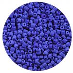 Бисер Астра (уп. 20 г) М48 синий матовый