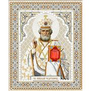Рисунок на ткани «Конек 7106 Николай Чудотворец» 20*25 см