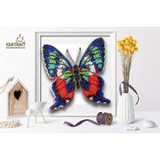 Набор для вышивания бисером Благовест 3D Б-018 «Бабочка Ancyluris Formosissima» 12,5*13 см