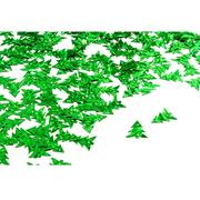 Пайетки «фигурки TBY-FLK780 Елочка» 11*16 мм цв 004 зеленый   (уп. 50 г)