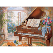Рисунок для вышивания бисером Астрея (Gluria) 71301 «Старый рояль» 30*40 см