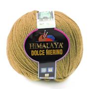 Пряжа Дольче Мерино (Himalaya Dolce Merino) 100 г/ 230 м 59429 оливковый