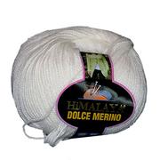 Пряжа Дольче Мерино (Himalaya Dolce Merino) 100 г/ 230 м 59430 молочный