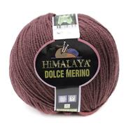 Пряжа Дольче Мерино (Himalaya Dolce Merino) 100 г/ 230 м 59437 коричневый
