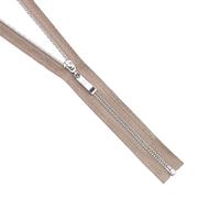 Молния Т5 СПб. 70 см никель/ 128 беж-серый 15270