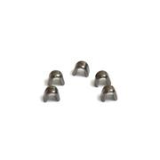 Ограничитель для метал. молний верхний никель уп.20 шт. 111199