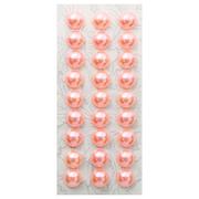 Полубусы клеевые 10 мм жемчуг 7704129 (уп. 27 шт.) 17z коралловый