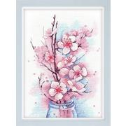 Набор для вышивания Овен №1187 «Яблоневый цвет» 19*27 см