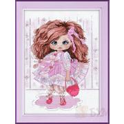 Набор для вышивания Овен №1221 «Кукла Ариша» 22*27 см