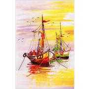Набор для вышивания Овен РК-013  «Родная гавань» №1  24*36 см