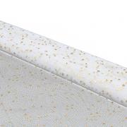 Ткань 50*75 см Сетка со звездочками 28441 белый