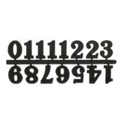 Часовые цифры Астра 7724168 5AS-85 «Арабские» 2,5 см черный