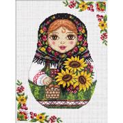 Набор для вышивания Panna НМ-1791 «Русская матрешка. Осень» 22*29 см