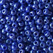 Бисер Preciosa Чехия (уп. 5 г) 38050 синий перламутровый