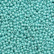 Бисер Preciosa Чехия (уп. 5 г) 68130 голубой перламутровый