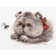 Набор для вышивания Алиса 0-191 «Басик-охотник » 8*13 см