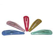Зажим для волос ТИК-ТАК 6 см разноцветные уп.10 шт