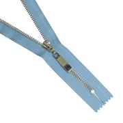 Молния Т5 СПб. 18 см никель/голубой 546   13418