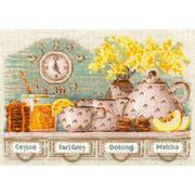 Набор для вышивания Риолис №1873 «Tea Time» 21*30 см