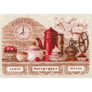 Набор для вышивания Риолис №1874 «Coffee Time» 21*30 см
