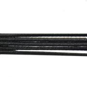 Шнур резиновый 3 мм Тур. черный рул. 100 м