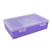 Контейнер 2868-4 для ниток фиолетовый 558406 25*18*7 мм