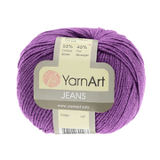 Пряжа Джинс (YarnArt Jeans), 50 г / 160 м, 72 фиолетовый