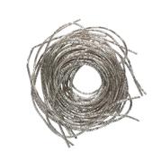 Проволока декоративная (трунцал) д.0,7 мм ТК002НН07 серебро (уп 5 гр) 559928