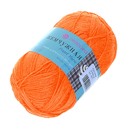 Пряжа Жемчужная, 100 г / 425 м, 284 оранжевый