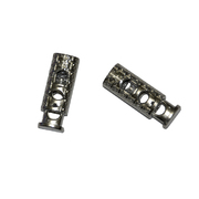 Фиксатор пласт. 3868 под металл «цилиндр» 2 шнура никель уп. 20 шт.