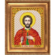Рисунок для вышивания бисером Благовест И-5147  Виктор 13,5*17 см