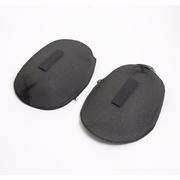 Плечи ОРЧ-15 обтяжн. реглан с липучкой  НР в упаковке черные