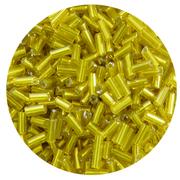 Бисер Астра стеклярус (уп. 20 г) №0030С желтый
