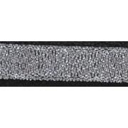 Тесьма металл. 10 мм MR-10 (уп. 33 м) серебро