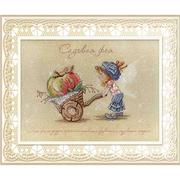 Набор для вышивания М.П.Студия РК-477 «Садовая фея» 20*27 см