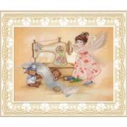 Набор для вышивания М.П.Студия РК-510 «Фея шитья» 22*28 см