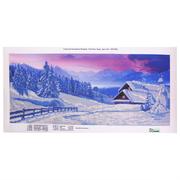 Рисунок на ткани «Конек 9678 Зима Полиптих Ч.4 » 25*65 см