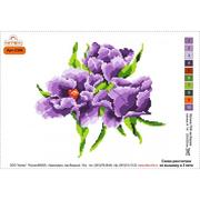 Набор для вышивания Нитекс 2385  «Цветы» 22*32 см