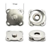 Кнопки пришивные TBY.MKK магнит 19 мм никель