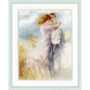 Набор для вышивания Золотое руно АК-008 «Свидание у моря» 27*35,5 см
