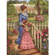 Набор для вышивания Panna ИС-1077 «В цветущем саду» 24*32 см