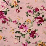 Ткань 50*50 см AR 1815 100% хлопок в розочки Астра розовый 7729625